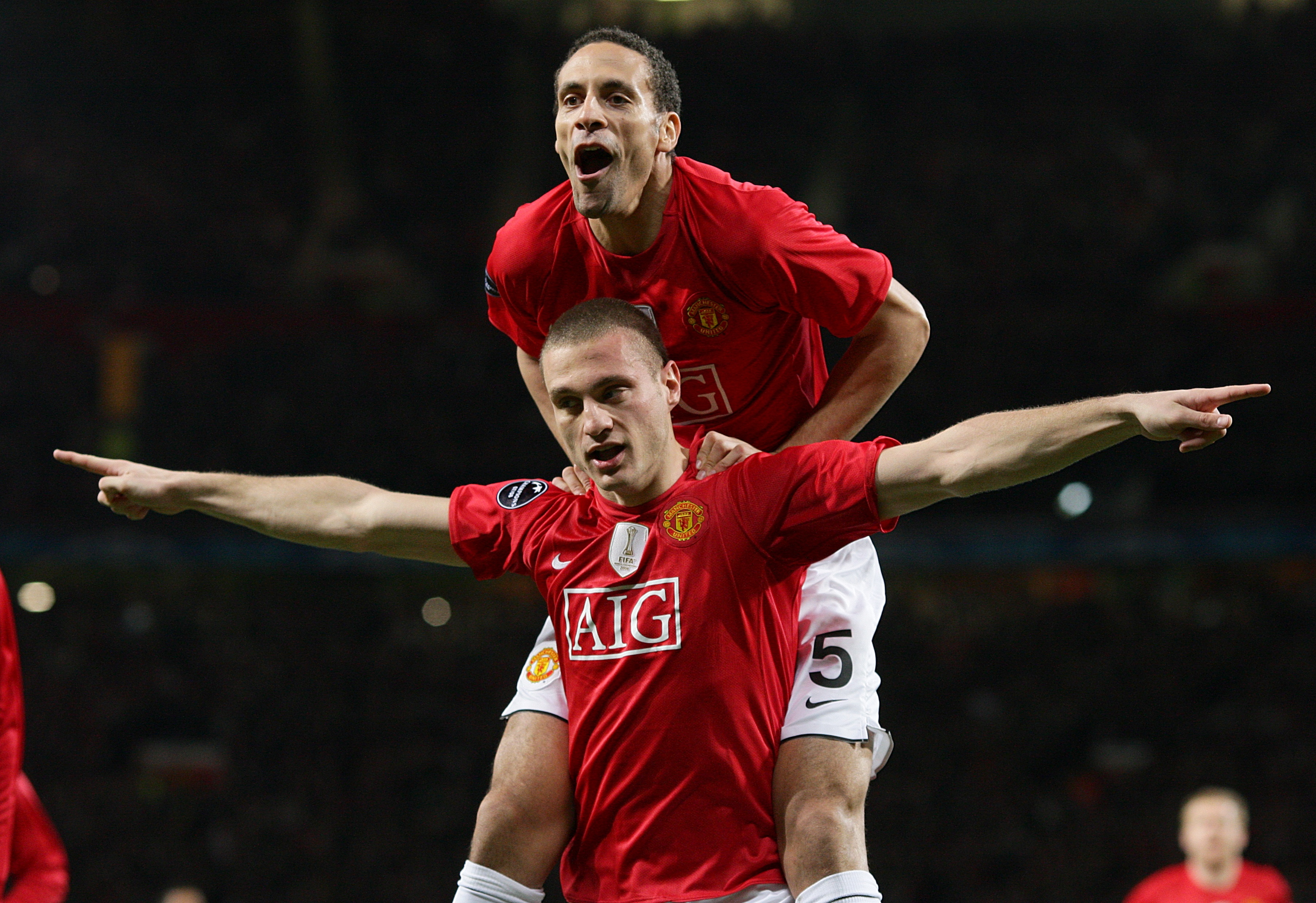 Image result for ferdinand and vidic