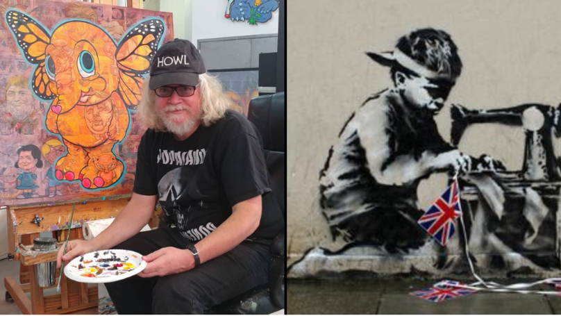 Artist Pays £561k For Banksy Artwork Just So He Can Whitewash It