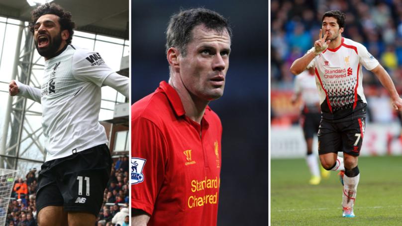 Jamie Carragher Decides Between Mo Salah And Luis Suarez