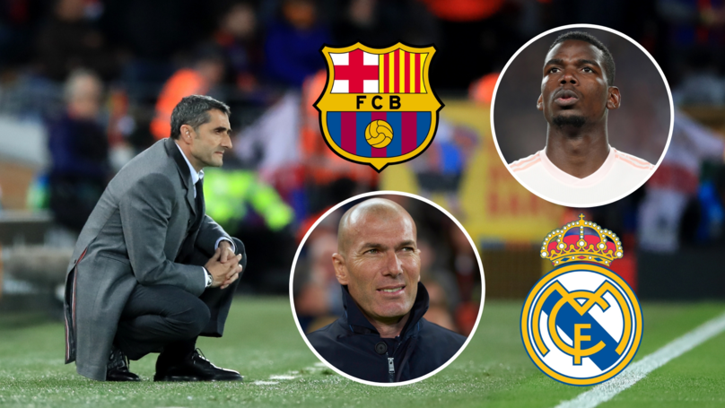Barcelona To Hijack Real Madrid's Move For Paul Pogba With A 'Whopping £130m Bid'