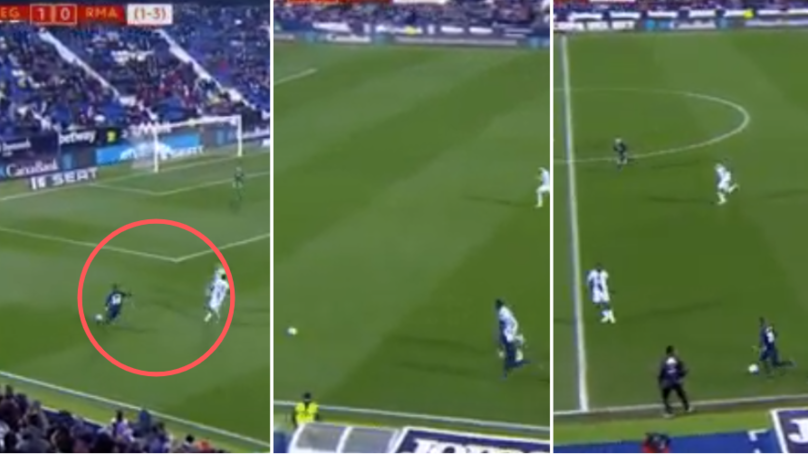 The Moment Real Madrid's Vinicius Junior Ran 34 km/h In The 90th Minute