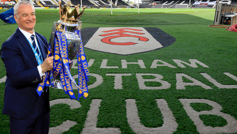 Bookies Price Fulham At 5000/1 To Win League Following Ranieri Appointment