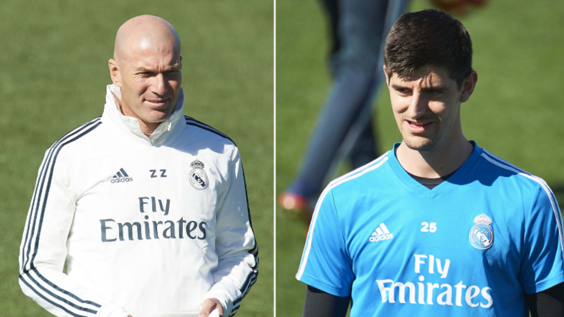 BREAKING: Thibaut Courtois Dropped By Zinedine Zidane On His Return To Real Madrid